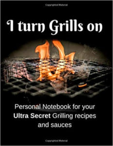 master grillers journal recipe book