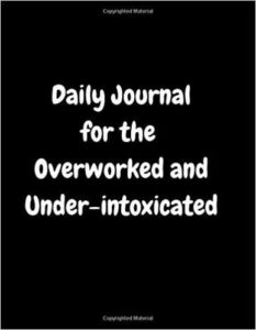 The overworked journal for coworkers, kindle journals