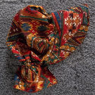 Bonnet of beautiful autumn colors in a southwest print from Rawhide Gifts and Gallery