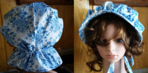 Bonnets for women have never looked so good....beautiful choices in high quality materal makes bonny buying fun