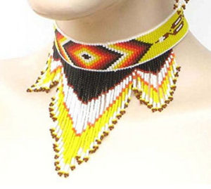 native-american-seedbeads-choker-necklace