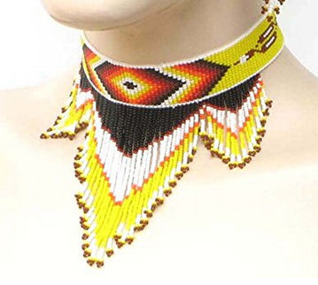native-american-seedbeads-beadds chocker-necklace.