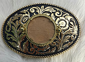 Belt Buckle Blanks for silver quarter
