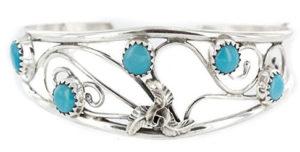 Silver Cuff Filagree Bracelet