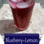 Blueberry Lemon kombucha