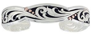 montana.silversmith.leather.cut_.rose_.gold_.trailing.vine_.cuff_.bracelet.cuff