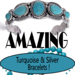 Silver and Turquoise Amazing Bracelets