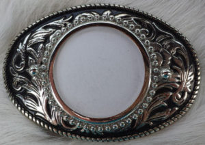 Belt Buckle Blank for a silver dollar