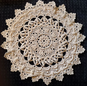 Needlework Creative Crochet Doily PAtterns Patricia Kristofferson