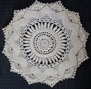 Needlework Creative Crochet Doily Patterns -Patricia Kristofferson