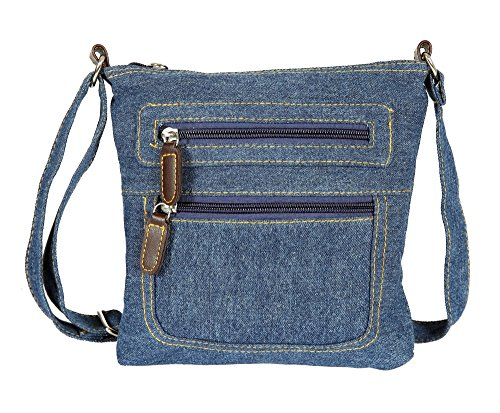 Small Denim Cross Body Purse