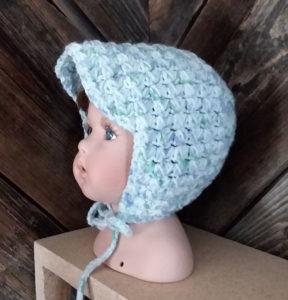 Baby boy's crocekt brim cap