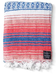 Pastel Mexican Serape Throws