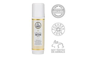 Organic Zinc Stick moisturizer and sunscreen