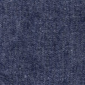 Indigo blue denim fabric