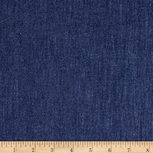 Dark Indigo Denim Material for Jackets Denim Blue Jean Material
