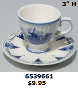 cup and saucer delft blue