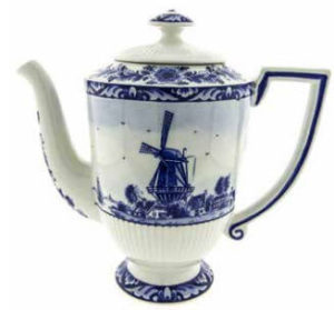 Tall Windmill Teapot