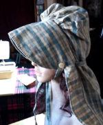 ladies authentic original pioneer bonnet