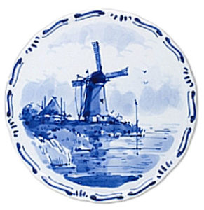 Windmill high quality plate
