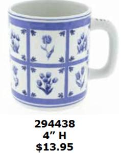 Delft Tile mug