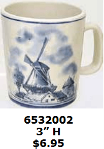 soft paint strokes windmill cocoa mug