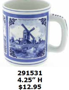 windmill cocoa coffee mug