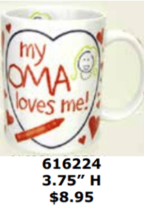 oma dutch coffee mug