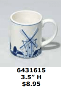 abstract art windmill coffee cocoa mug