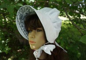 Bandana summer breeze ladies sunbonnet, Brimmed Sun Bonnets