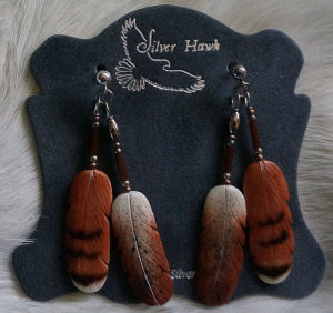 Hawk double earring set