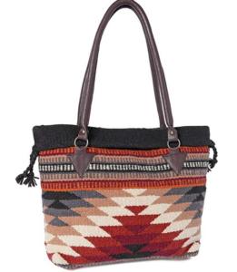Saddle Blanket Purse Bag Diamond Design