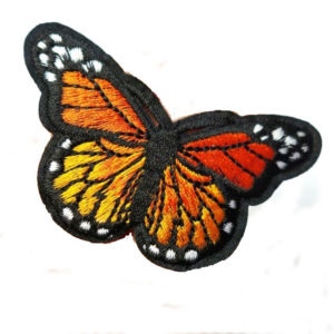 Embroidered Monarch-Sunshine Country Embroidery