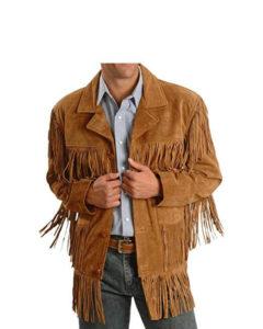 fringe leather jackets, Mens Leather Fringe Jacket