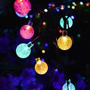 multicolored- pathway lights