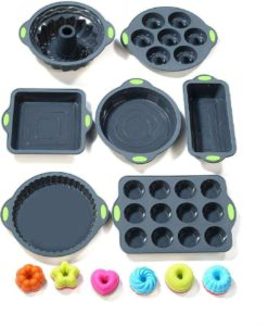 Colored Silicone Bakeware