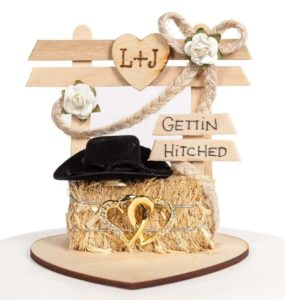 Western Wedding Topper