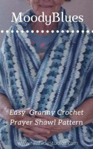 Moody Blues Prayer Shawl Pattern
