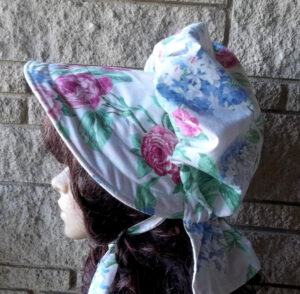 womens protective sun hat roses